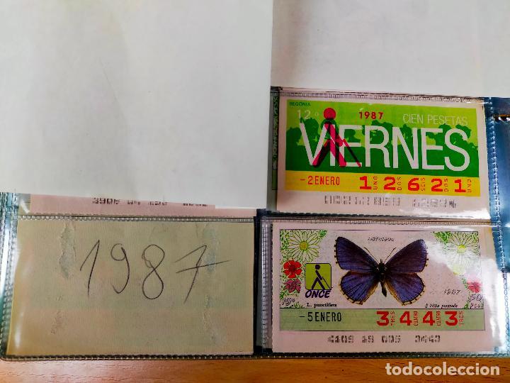 Cupones ONCE: COLECCION COMPLETA CUPONES ONCE CAPICUAS 1984 AL 1987 UN CUPON POR SORTEO - Foto 122 - 265700389