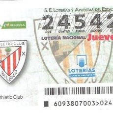 Cupones ONCE: LOTERIA DE LOS JUEVES, CAPICUA, SORTEO 93 DEL 2018. Lote 270253968