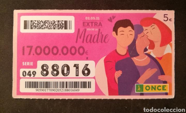 N° 88016 (2/MAYO/2021)-DIA DE LA MADRE (Coleccionismo - Lotería - Cupones ONCE)