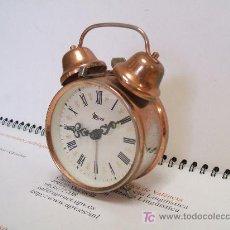 Despertadores antiguos: DESPERTADOR MICRO ESTILO CLÁSICO.. Lote 17184236
