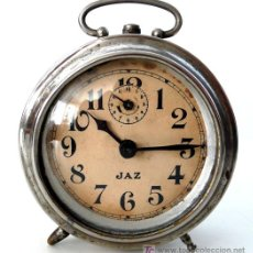 Despertadores antiguos: RELOJ DESPERTADOR FRANCÉS - MARCA JAZ - PP. S. XX - I. Lote 27160584