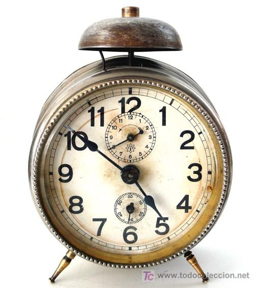 RELOJ DESPERTADOR ALEMÁN - MARCA JNGHANS - PP. S. XX - F (Relojes - Relojes Despertadores)
