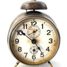 Despertadores antiguos: RELOJ DESPERTADOR ALEMÁN - MARCA JNGHANS - PP. S. XX - RARO - F. Lote 26578821