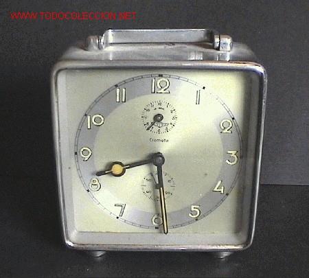 RELOJ-DESPERTADOR ART-DECÓ (Relojes - Relojes Despertadores)
