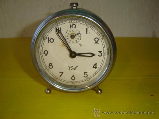 RELOJ DESPERTADOR CID (Relojes - Relojes Despertadores)