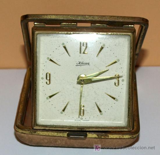 RELOJ DESPERTADOR -KAISER- (Relojes - Relojes Despertadores)