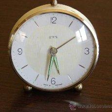 Despertadores antiguos: RELOJ DESPERTADOR ANTIGUO DE CUERDA. Lote 27600979