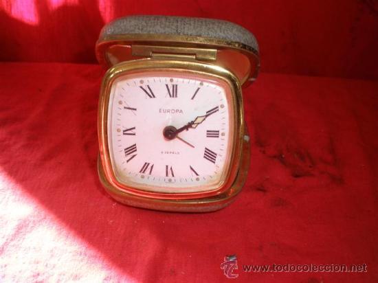 RELOJ DE VIAJE DESPERTADOR (Relojes - Relojes Despertadores)