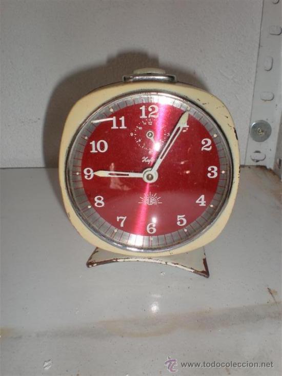 RELOJ DESPERTADOR SAFIRO ALBA (Relojes - Relojes Despertadores)