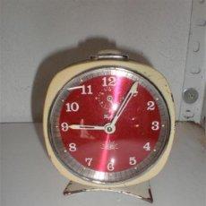 Despertadores antiguos: RELOJ DESPERTADOR SAFIRO ALBA. Lote 18446984