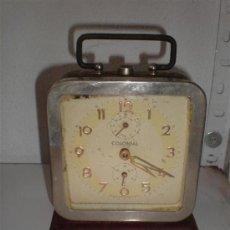 Despertadores antiguos: RELOJ DESPERTADOR COLONIAL. Lote 18447013