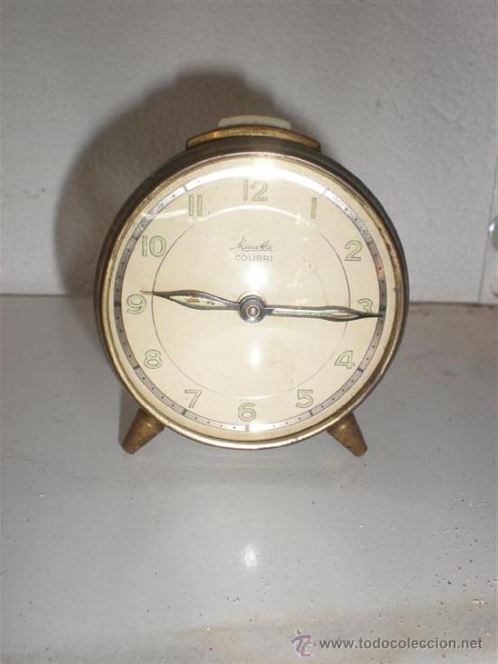 RELOJ DESPERTADOR COLIBRI (Relojes - Relojes Despertadores)