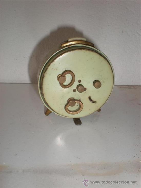 Despertadores antiguos: reloj despertador colibri - Foto 2 - 18447192