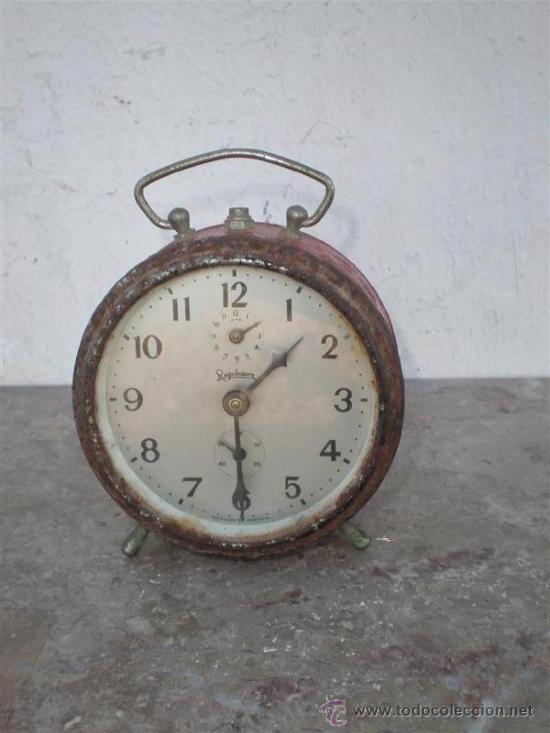 RELOJ DESPERTADOR REGULADORA (Relojes - Relojes Despertadores)