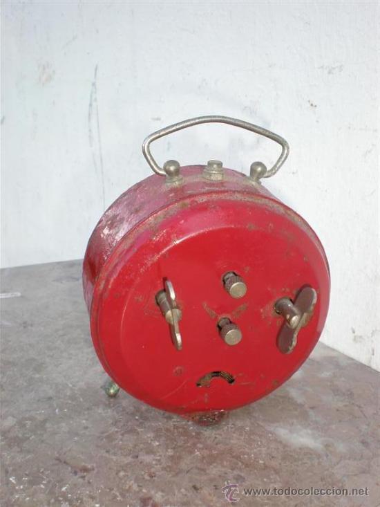 Despertadores antiguos: reloj despertador reguladora - Foto 2 - 18946990
