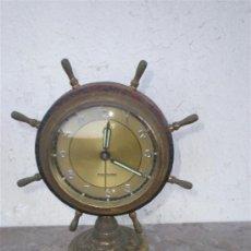 Despertadores antiguos: RELOJ DESPERTADOR MARCA MERCEDES EN METAL. Lote 18947164
