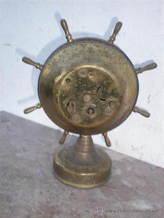 Despertadores antiguos: reloj despertador marca Mercedes en metal - Foto 2 - 18947164