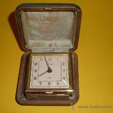 Despertadores antiguos: ANTIGUO RELOJ ALEMAN EUROPA,DESPERTADOR DE VIAJE. Lote 24020234