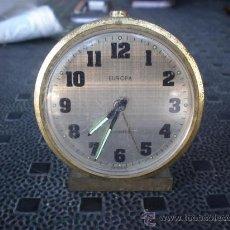 Despertadores antiguos: RELOJ DESPERTADOR EUROPA. Lote 22188498