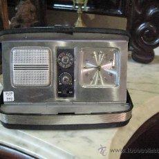 Despertadores antiguos: RADIO - RELOJ EN ESTUCHE DE LOS 80 -. Lote 27542883