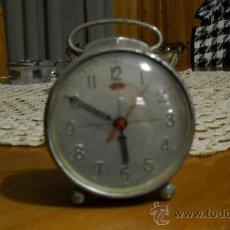 Despertadores antiguos: RELOJ DESPERTADOR MECANICO . Lote 27443170