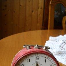 Despertadores antiguos: RELOJ DESPERTADOR MECANICO . Lote 27454790