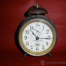 Despertadores antiguos: RELOJ DESPERTADOR NUMANCIA,MUY ANTIGUO.. Lote 56126312