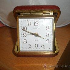 Despertadores antiguos: RELOJ DESPERTADOR DE VIAJE . Lote 29739667
