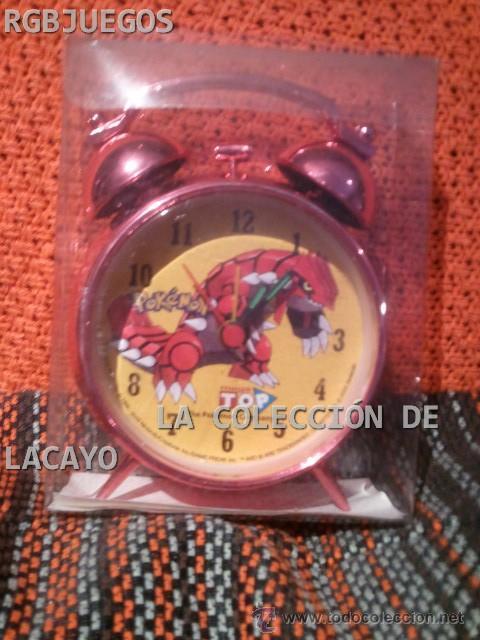 DESPERTADOR POKEMON 1 (Relojes - Relojes Despertadores)