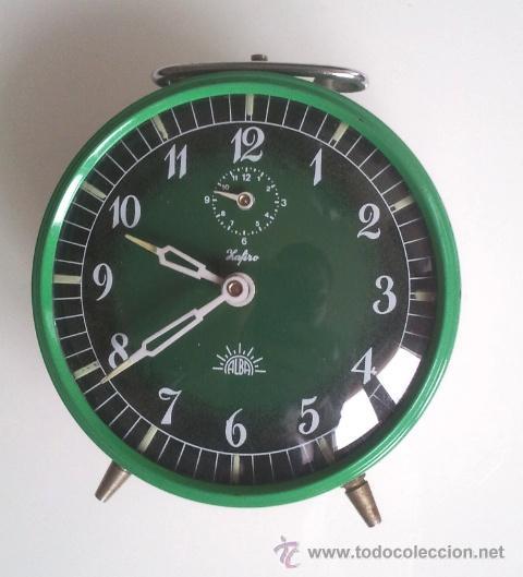 RELOJ DESPERTADO ALBA SAFIRO (Relojes - Relojes Despertadores)