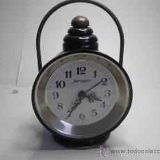 Despertadores antiguos: RELOJ DESPERTADOR JERGER. Lote 31301411