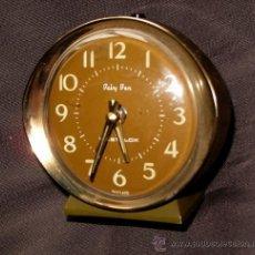 Despertadores antiguos: DESPERTADOR ESCOCÉS BABY BEN WESTCLOX. METALICO. AÑOS 60-70.. Lote 31542613