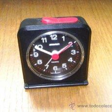 Despertadores antiguos: DESPERTADOR STAIGER QUARTZ - WEST GERMANY - FUNCIONA Y ESTA EN BUENAS CONDICIONES. Lote 31819122