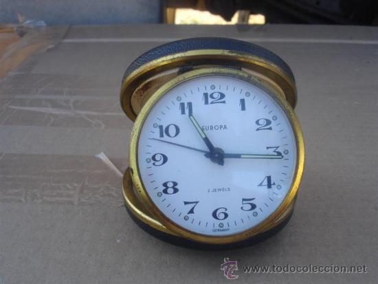 RELOJ DE VIAJE DE CUERDA EUROPE (Relojes - Relojes Despertadores)