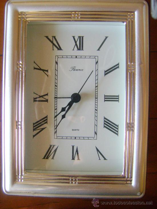 Despertadores antiguos: Reloj Despertador de Plata - Foto 2 - 32203837