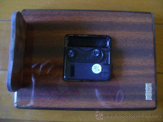 Despertadores antiguos: Reloj Despertador de Plata - Foto 3 - 32203837