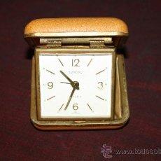 Despertadores antiguos: RELOJ DESPERTADOR DE VIAJE - 'EUROPA 2 JEWELS' - AÑOS 60 - GERMANY. Lote 103545000
