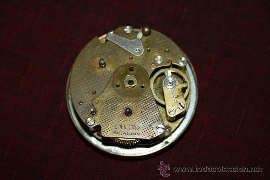 Despertadores antiguos: PRECIOSO RELOJ DESPERTADOR 'EMES' MADE IN GERMANY - CON BONITA FUNDA - M. S.XX - Foto 5 - 32555486