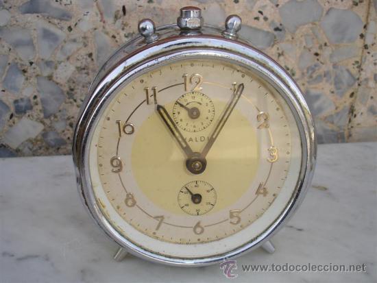 RELOJ DESPERTADOR ALEMAN (Relojes - Relojes Despertadores)