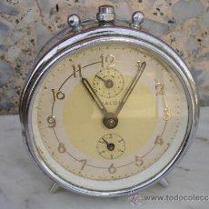 Despertadores antiguos: RELOJ DESPERTADOR ALEMAN. Lote 32816335