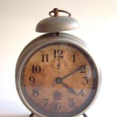 Despertadores antiguos: RELOJ DE CUERDA DESPERTADOR. Lote 32889751