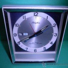 Despertadores antiguos: RELOJ DE SOBREMESA DESPERTADOR RHYTHM. Lote 159354225