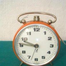 Despertadores antiguos: RELOJ DESPERTACOR DE CUERDA JAZ. Lote 34382018