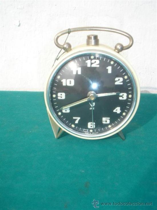 RELOJ DESPERTACOR DE CUERDA JAZ (Relojes - Relojes Despertadores)