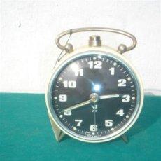 Despertadores antiguos: RELOJ DESPERTACOR DE CUERDA JAZ. Lote 34382030