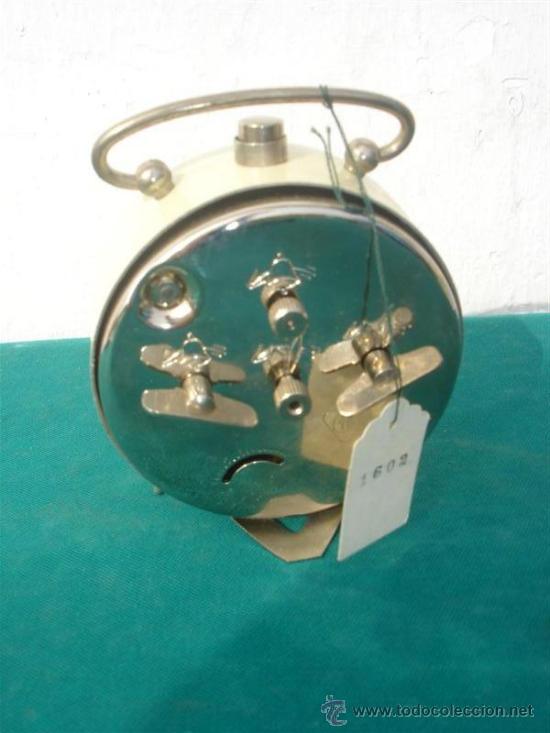 Despertadores antiguos: reloj despertacor de cuerda Jaz - Foto 2 - 34382030