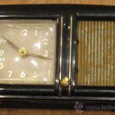Despertadores antiguos: RELOJ MÚSICA MADE IN GERMANY AÑOS 60. Lote 34528492