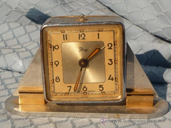 RELOJ ART DECO (Relojes - Relojes Despertadores)