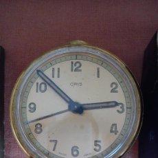 Despertadores antiguos: RELOJ DESPERTADOR ORIS. Lote 53104440