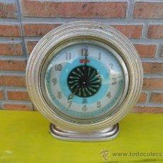 Despertadores antiguos: RELOJ DESPERTADOR DE LOS AÑOS 50. Lote 36190341